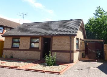 Thumbnail 2 bedroom detached bungalow for sale in Hazel Croft, Werrington, Peterborough