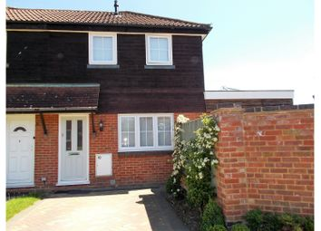 Thumbnail 1 bed terraced house for sale in Sonninge Close, Sandhurst