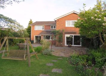 Thumbnail 5 bed detached house to rent in Reading Road, Burghfield Common, Reading