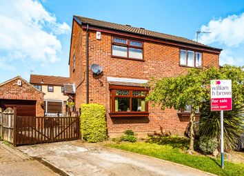 Thumbnail 2 bedroom semi-detached house for sale in Langdale Way, Dinnington, Sheffield