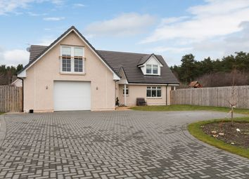 Thumbnail 4 bed detached house for sale in Blackstob Way, Kinloss, Forres