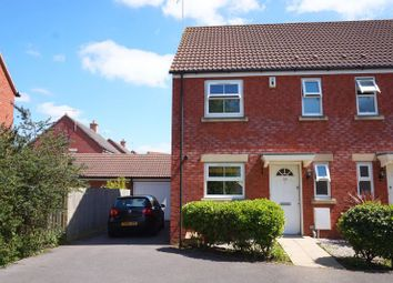 Thumbnail 3 bed semi-detached house to rent in Bodenham Field, Abbeymead, Gloucester