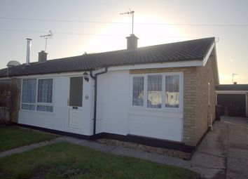 Thumbnail 3 bedroom bungalow to rent in Castle Close, Weeting