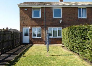 Thumbnail 2 bed end terrace house for sale in Rimside View, Longframlington, Morpeth