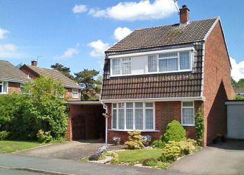 Thumbnail 3 bed detached house for sale in Chester Close, Lichfield