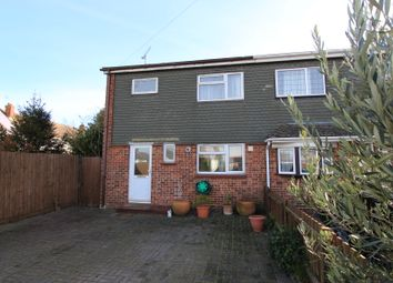 Thumbnail 3 bed semi-detached house for sale in Lodge Close, Rayleigh