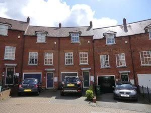 Thumbnail 4 bed town house to rent in Goldsmith Way, St Albans