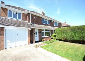 Thumbnail 4 bed semi-detached house for sale in Warborough Avenue, Tilehurst, Reading