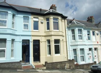 Thumbnail 2 bedroom terraced house for sale in St Judes, Plymouth, Devon
