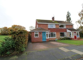 Thumbnail 3 bed semi-detached house for sale in Simonside View, Ponteland, Newcastle Upon Tyne, Northumberland