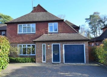 Thumbnail 4 bed detached house to rent in Lincoln Drive, Pyrford, Woking, Surrey
