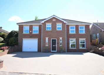 Thumbnail 4 bed detached house for sale in West End, Pinxton, Derbyshire