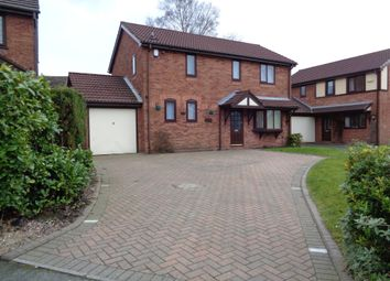 Thumbnail 4 bed detached house to rent in Carlisle Close, Whitefield, Manchester