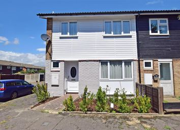 Thumbnail 3 bedroom end terrace house for sale in Cervia Way, Gravesend, Kent