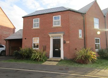 Thumbnail 3 bed semi-detached house for sale in Loddington Close, Syston, Leicester
