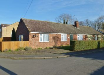 Thumbnail 3 bed bungalow to rent in Vicarage Close, Dullingham, Newmarket
