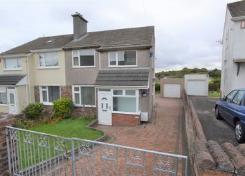 Thumbnail 3 bedroom semi-detached house for sale in Carnock Road, Manadon, Plymouth, Devon