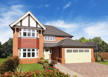"Thumbnail 4 bed detached house for sale in ""Henley"" at Church Road, Leckhampton, Cheltenham"