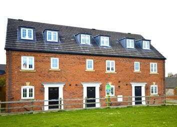 Thumbnail 4 bed terraced house for sale in Weaver Close, Oswestry