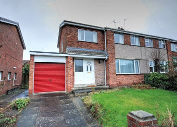 Thumbnail 3 bed semi-detached house for sale in Leland Place, Morpeth