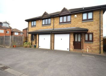 Thumbnail 3 bed semi-detached house for sale in Juniper Close, Chessington