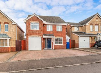 Thumbnail 5 bed detached house for sale in Kedleston Road, Park Farm, Peterborough