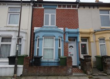 Thumbnail 3 bed terraced house to rent in Vernon Road, Portsmouth