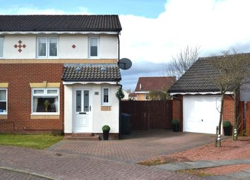 Thumbnail 3 bed semi-detached house for sale in 13, Aitken Close, Newmains, Wishaw, North Lanarkshire