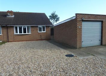 Thumbnail 2 bed semi-detached bungalow for sale in Eagle Close, Mablethorpe