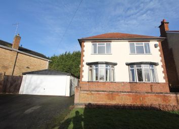 Thumbnail 3 bed detached house for sale in Alexander Avenue, Earl Shilton, Leicester