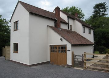 Thumbnail 4 bed detached house to rent in Minsterley, Shrewsbury