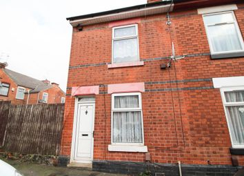 Thumbnail 3 bedroom end terrace house for sale in Percy Street, Derby