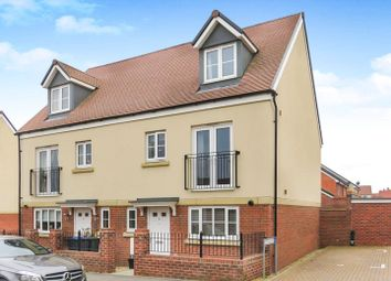 Thumbnail 4 bed town house for sale in Haragon Drive, Amesbury, Salisbury