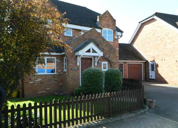 Thumbnail 4 bed detached house to rent in The Broadway, Laleham, Staines