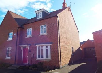3 bed semi-detached house to rent in Flora Grove, Ashby-De-La-Zouch LE65