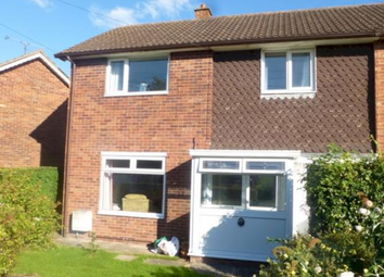 Thumbnail 3 bed end terrace house to rent in Coleridge Crescent, Westfields, Hereford.