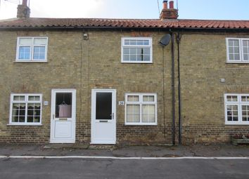 Thumbnail 2 bed terraced house to rent in Mill Road, Watlington, King's Lynn