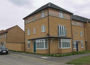 Thumbnail 4 bed town house to rent in Pinder Avenue, Peterborough