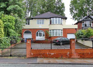 Thumbnail 4 bed detached house for sale in Hilton Lane, Prestwich, Manchester