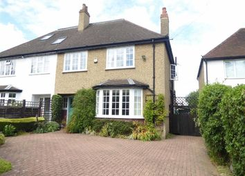 Thumbnail 4 bed semi-detached house for sale in Pinner Road, Watford