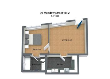 Thumbnail 1 bed flat for sale in Meadow Street, Weston-Super-Mare