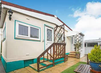1 bed detached house for sale in Tremarle Home Park, North Roskear, Camborne, Cornwall TR14