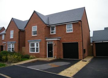 Thumbnail 4 bed detached house for sale in Snow Crest Place, Stapeley, Nantwich, Cheshire