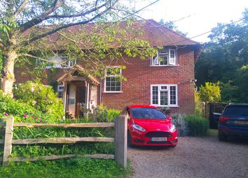 Thumbnail 3 bed semi-detached house for sale in Nutbourne Cottages, Roundals Lane, Hambledon, Godalming