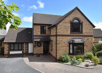 Thumbnail 4 bed detached house for sale in Brownlees, Exminster, Near Exeter