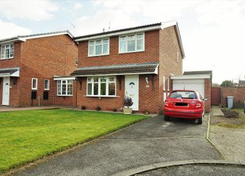 Thumbnail 3 bed detached house for sale in Stanier Close, Crewe