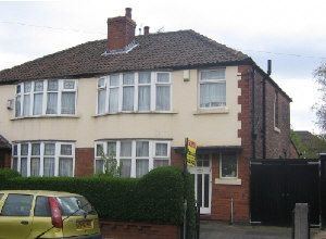 Thumbnail 4 bed semi-detached house to rent in Delaine Road, Withington