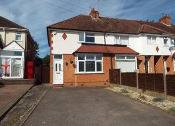 Thumbnail 2 bed end terrace house for sale in Ringswood Road, Solihull, West Midlands