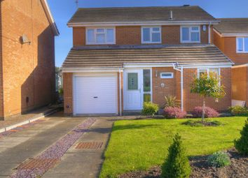 Thumbnail 4 bed detached house for sale in Osborne Close, Bedlington