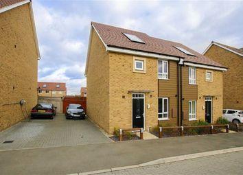 Thumbnail 3 bedroom semi-detached house for sale in Twiselton Heath, Wolverton, Milton Keynes, Bucks